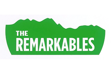 Picture of Remarkables Mountain Large Die Cut Sticker